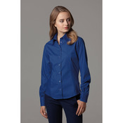 Women's corporate Oxford blouse long-sleeved (tailored fit)