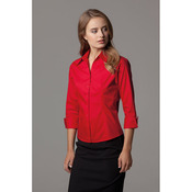 Women's corporate Oxford shirt ¾-sleeved (tailored fit)