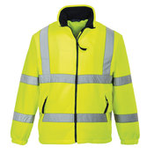 Hi-vis mesh-lined fleece (F300)