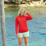 Women's lightweight raglan sweatshirt