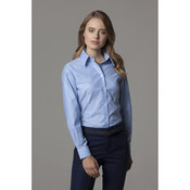 Women's workplace Oxford blouse long-sleeved (tailored fit)