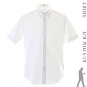 Premium Oxford shirt short-sleeved (tailored fit)