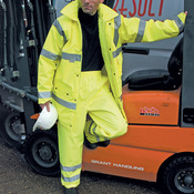Safety high-viz trousers